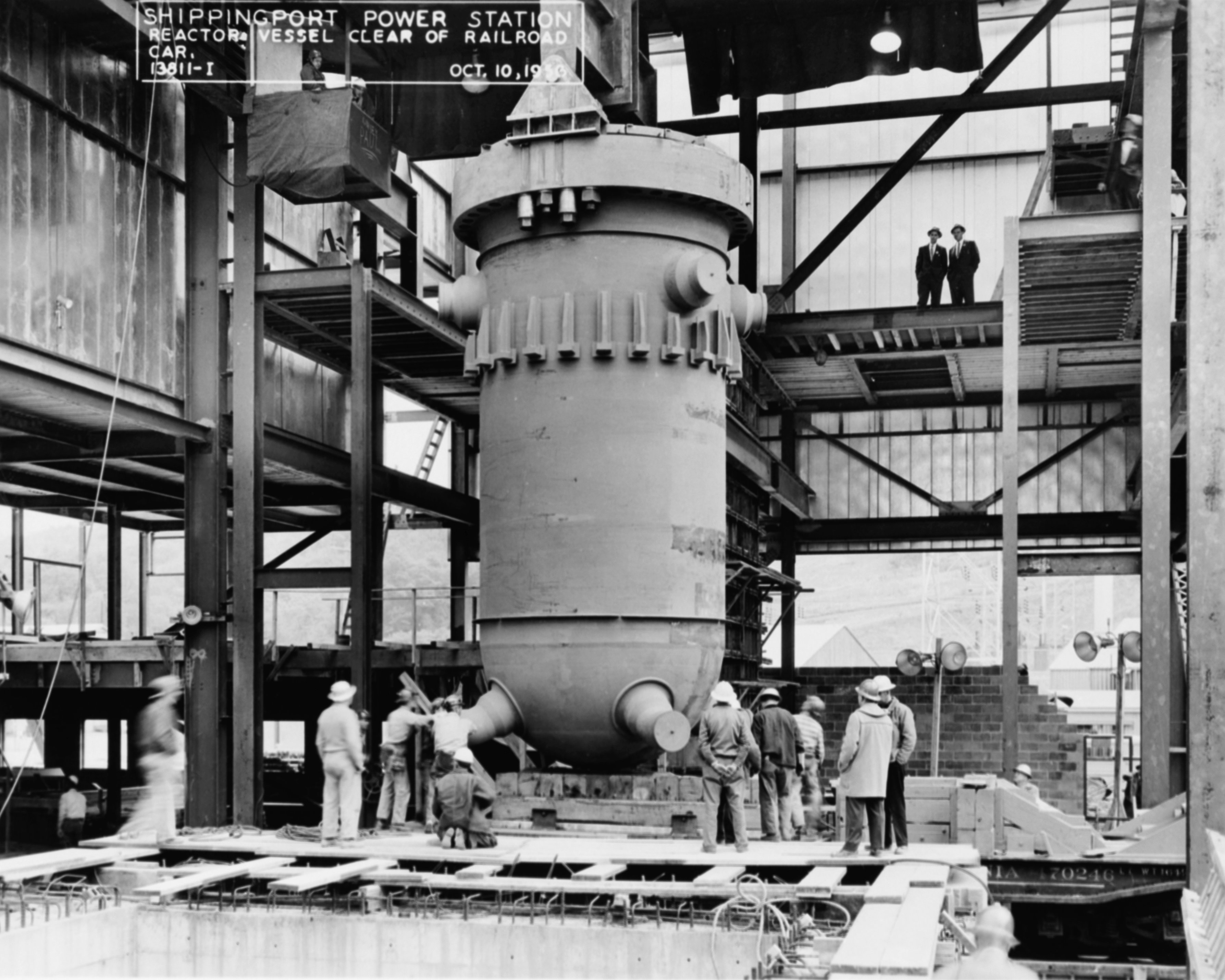 The shippingport atomic power station aaron coleman ph240 fall 2009 stanford university - Small reactor space engineers gallery ...