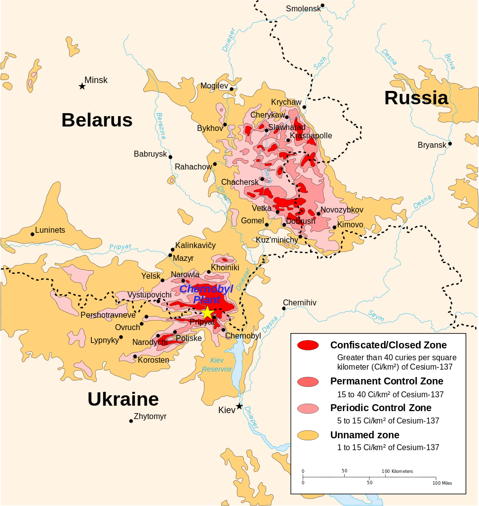 How much worse is chernobyl than background radiation gumiabroncs Choice Image