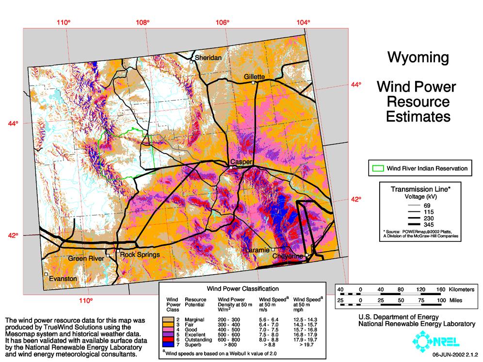 Wyoming Wind Power