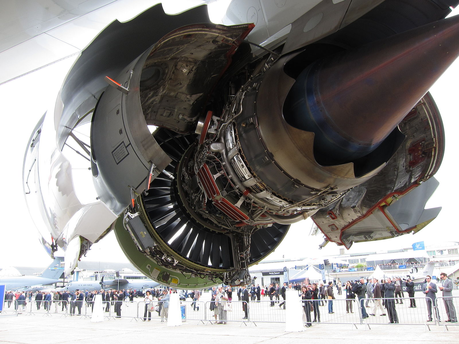 The GEnx 2B67 Jet Engine