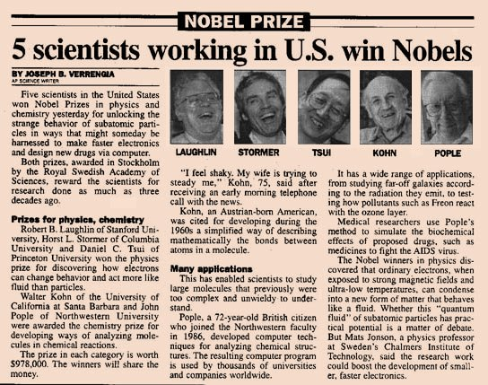 newspaper articles on medical research