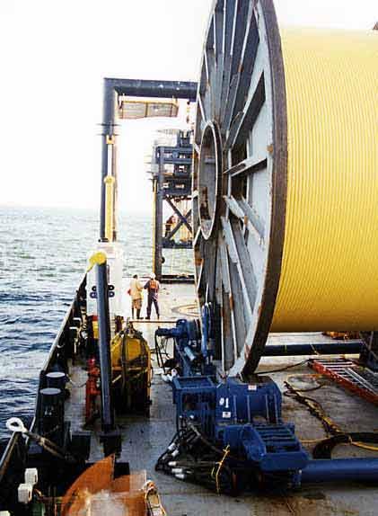 Oceaneering 300 Ton Under Roller