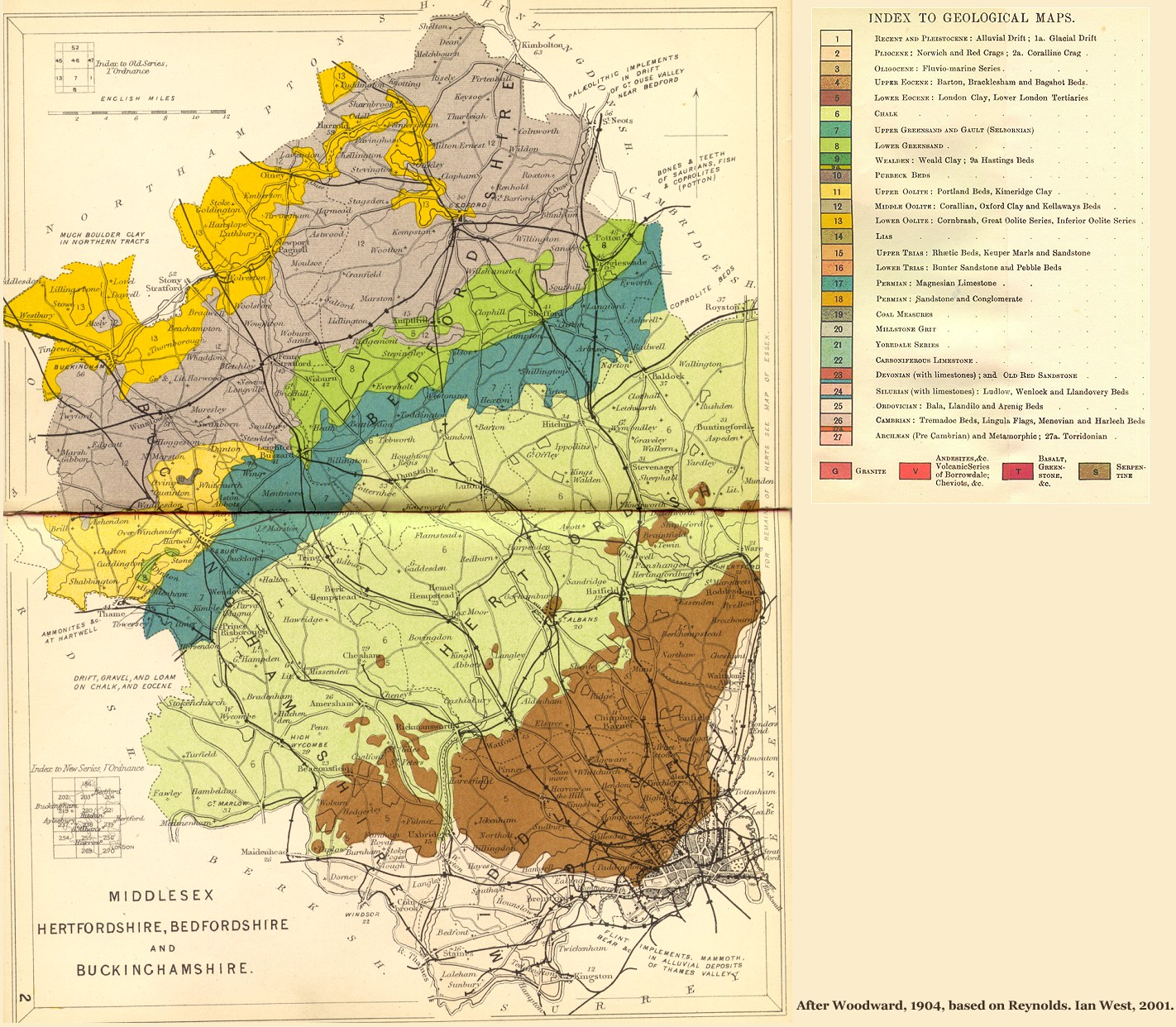 Geology Of Great Britain Uk Introduction And Maps By