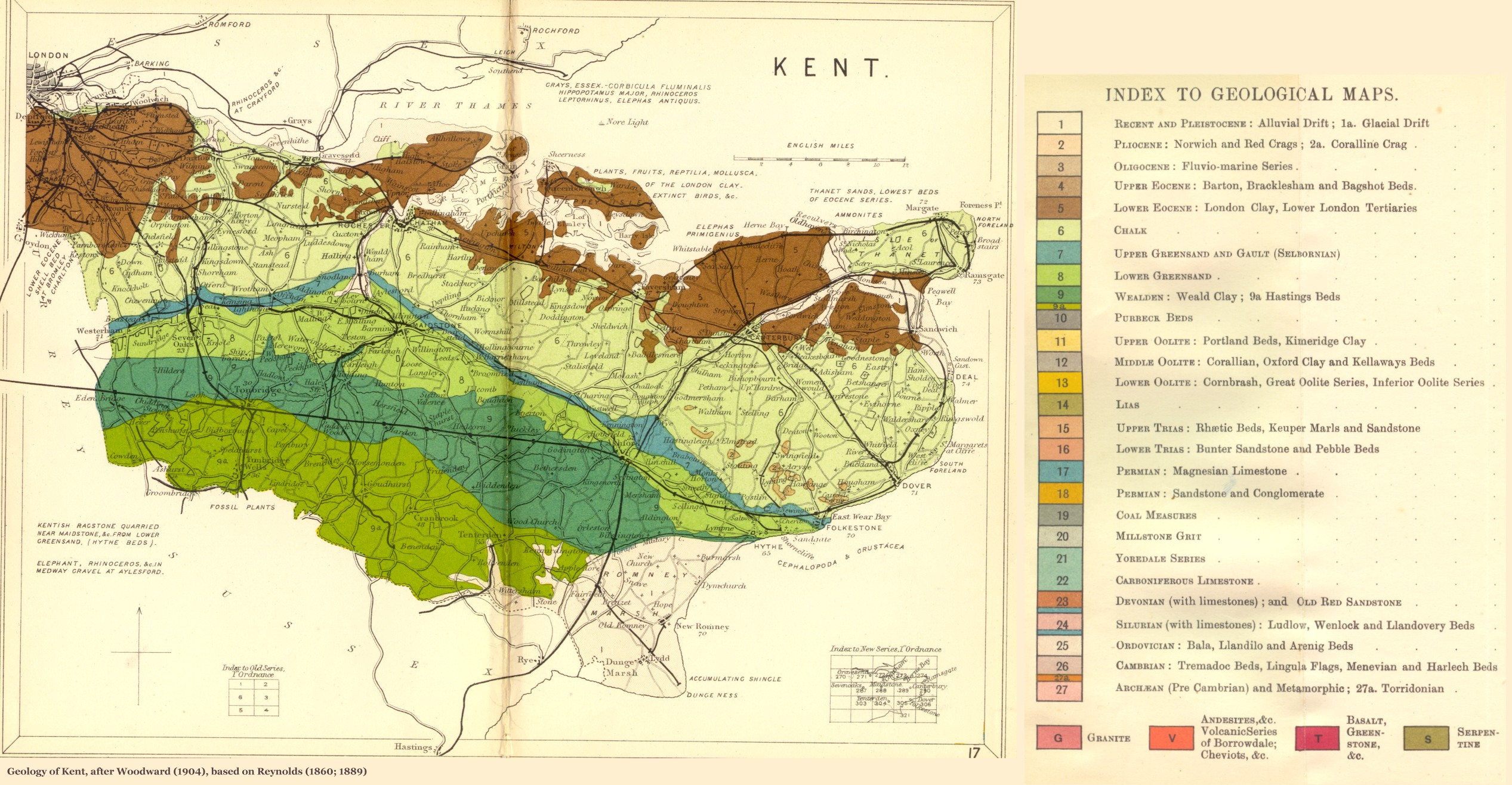 geology of great britain  uk - introduction and maps